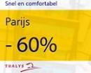 lastminute trein naar Parijs