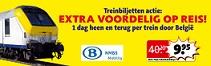 treinactie kruidvat Belgiea