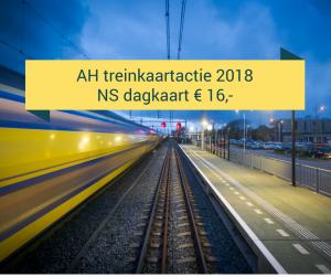 AH treinkaartje 2018