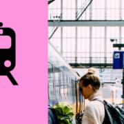 Huishoudbeurs trein