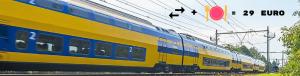 Goedkoop treinkaartje inclusief diner