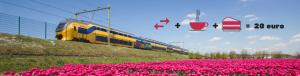 Goedkope treinkaartjes maart 2018 Spoordeelwinkel