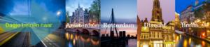 Dagje Amsterdam met de trein