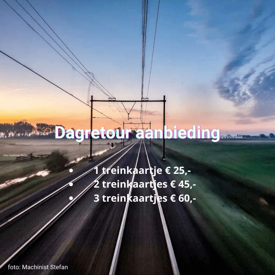 Spoordeelwinkel goedkope treinkaartjes