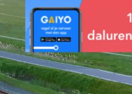 Goedkoop treinkaartje Gaiy