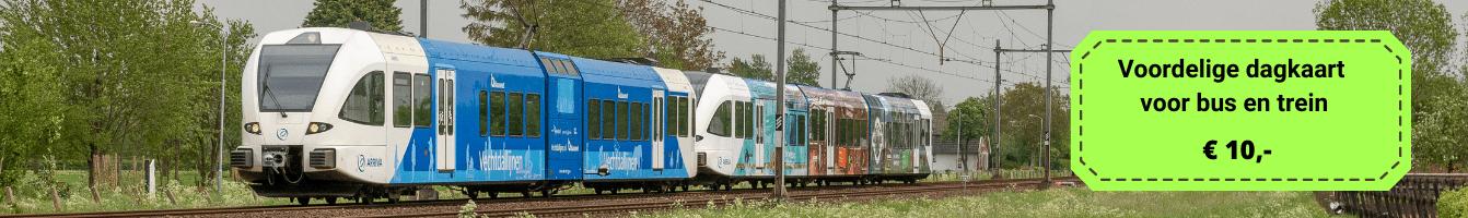 Ervaar het OV goedkoop treinkaartje